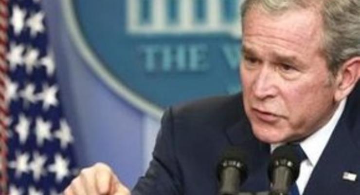 Буш попросил конгресс выделить для Обамы $350 млрд из стабпакета
