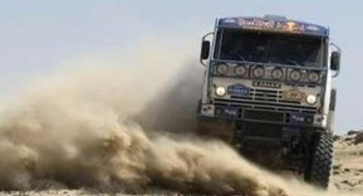 Дакар-2009: КАМАЗ отстаивает результаты 9-го этапа