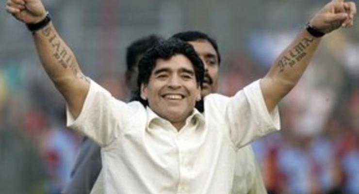 Марадона: Месси будет лучше меня