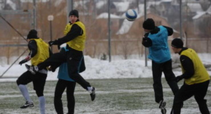 Сразу пять футболистов Шахтера травмировались на тренировке
