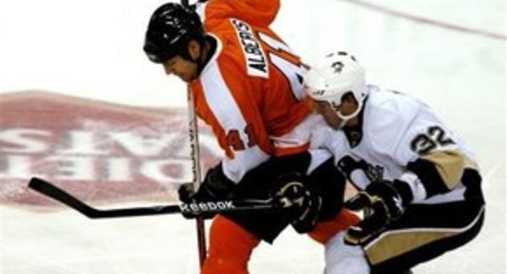 NHL: Пингвины побеждают Летчиков