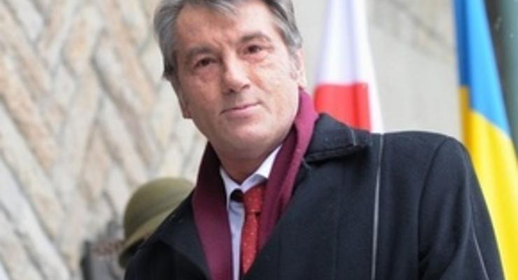 Ющенко назвал нерыночной цену в $450 за тысячу кубов газа