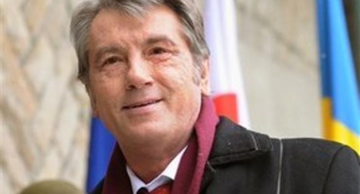 Ющенко назвал рыночную цену газа для Украины