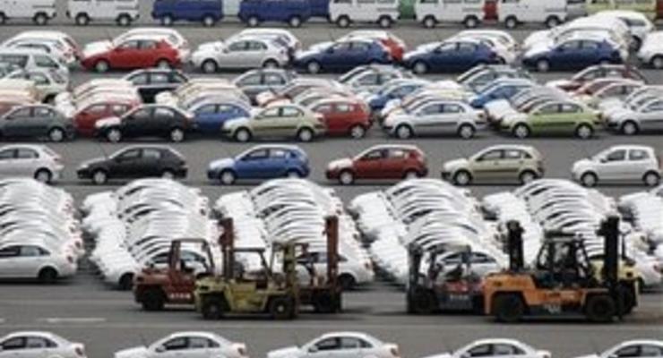 Продажи автомобилей в Европе упали рекордно за 15 лет