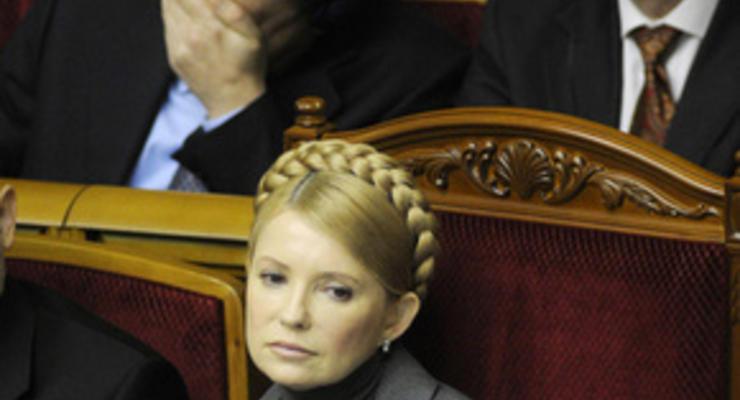 Тимошенко заявила о росте экономических показателей, несмотря на кризис