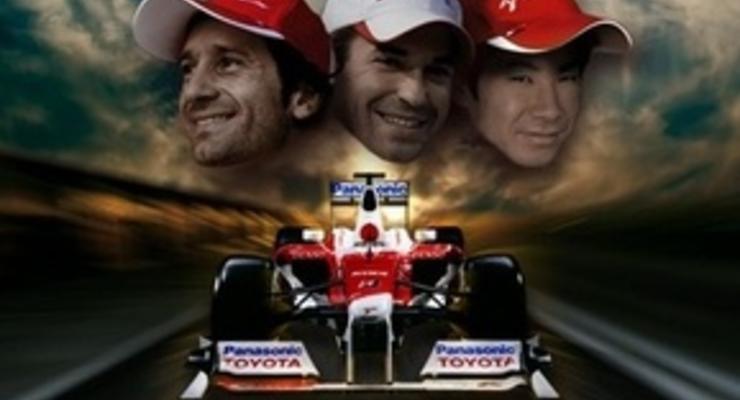 Фотогалерея: Toyota представила новый болид TF109
