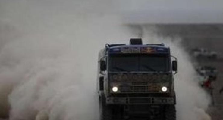Дакар-2009: Чагин снова возглавил общий зачет грузовиков
