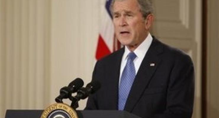 Буш выступил с прощальным телеобращением к стране