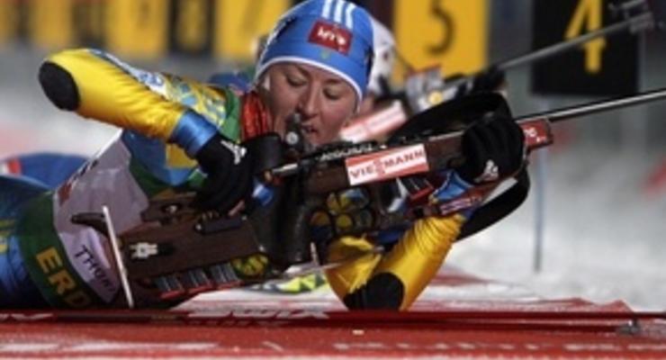 Вита Семеренко стала  лучшей биатлонисткой декабря