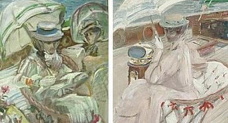 Путину подарили фальшивую картину Айвазовского