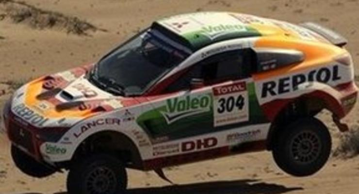 Дакар-2009: Рома защитил честь Mitsubishi, благодаря солидарности экипажей Volkswagen