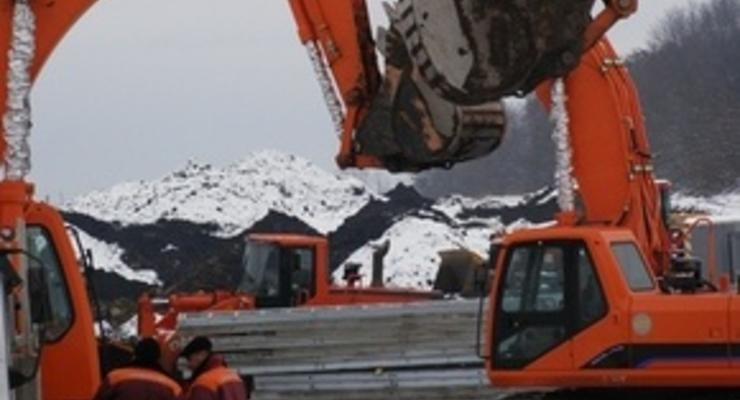 Во Львове завершили первый этап строительства фундамента стадиона
