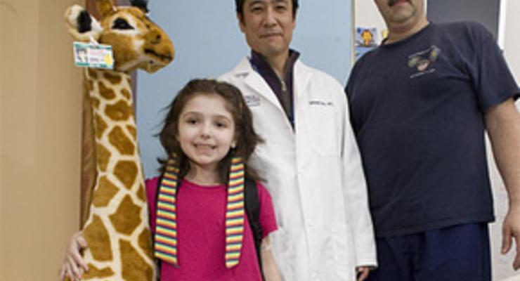 Врачи временно удалили семилетней американке шесть органов