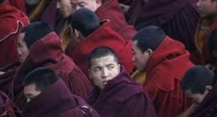 За нападение на полицейский участок арестованы 95 тибетских монахов