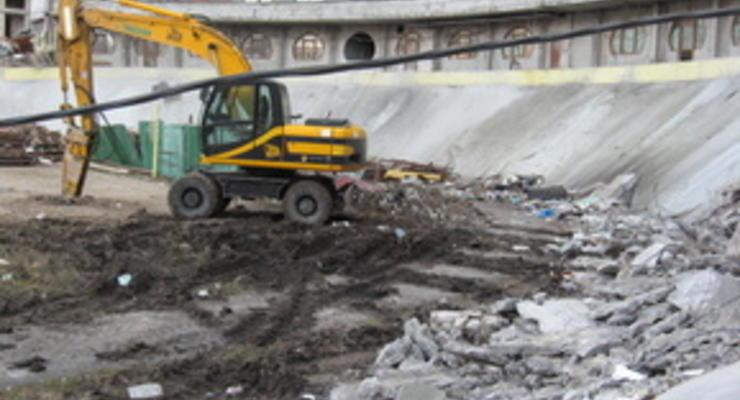 Фотогалерея: Уничтожение Киевского велотрека