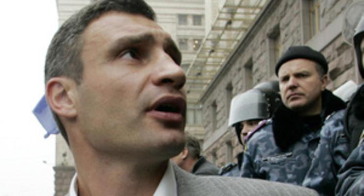 Кличко: Черновецкий игнорирует заседания Киевсовета