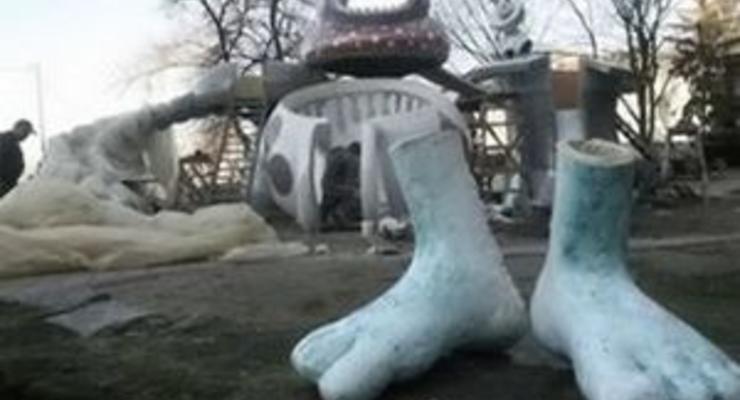 Завтра на Пейзажной аллее в Киеве откроют новые скульптуры