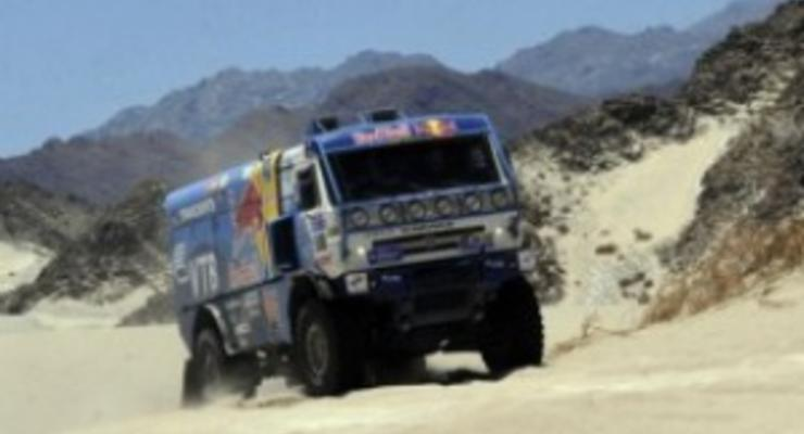 Дакар-2011: Чагин упрочил лидерство за два этапа до финиша ралли