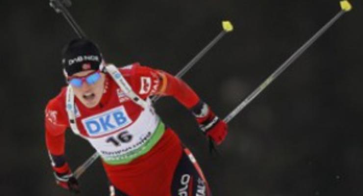 Биатлон: Бергер выиграла гонку преследования в Рупольдинге