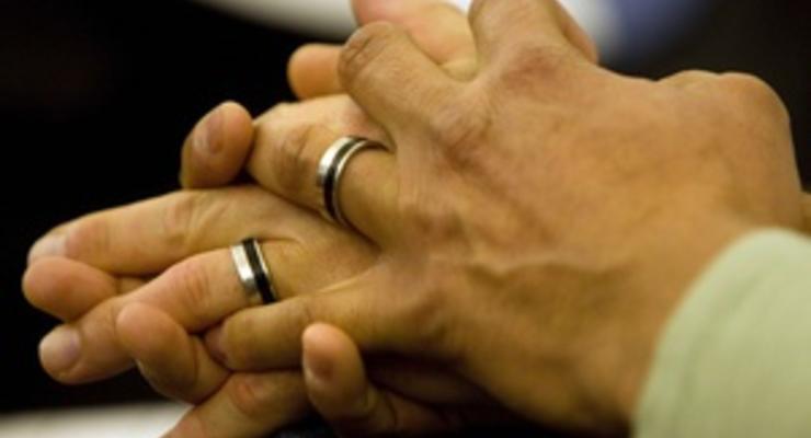 Американская пара сочеталась браком 100 раз