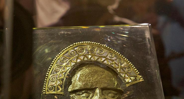 Золотой вождь: сокровища инков попали в Москву (ФОТО)