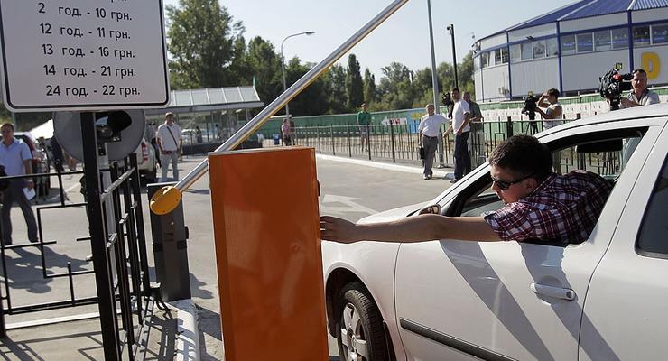 В Киеве открыли первый перехватывающий паркинг (ФОТО)