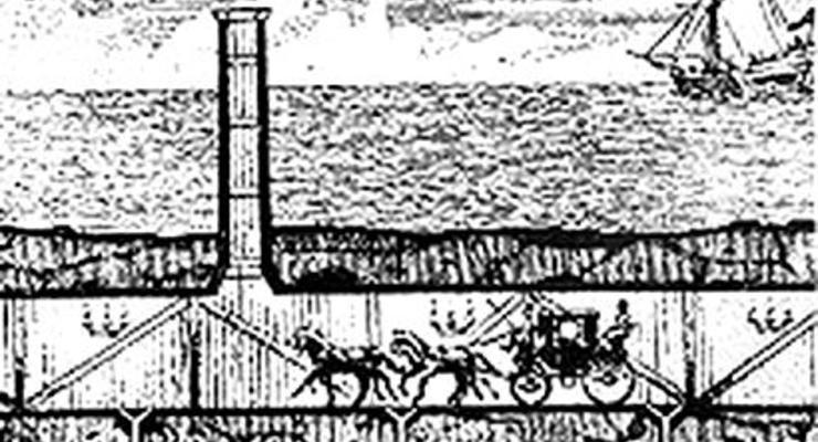Самая грандиозная стройка XX века: как рыли тоннель через море (ФОТО, ВИДЕО)