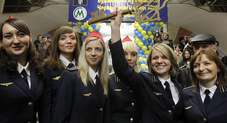 В Киеве открыли станцию метро Теремки (ФОТО)