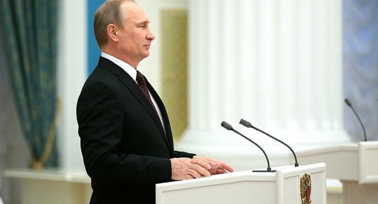 Обращение Путина по Крыму 18 марта. Полное видео