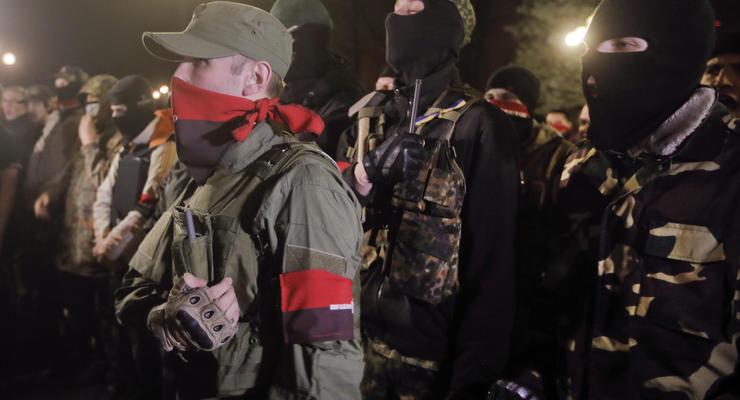 Милиция не пустила Правый сектор к Запорожской АЭС