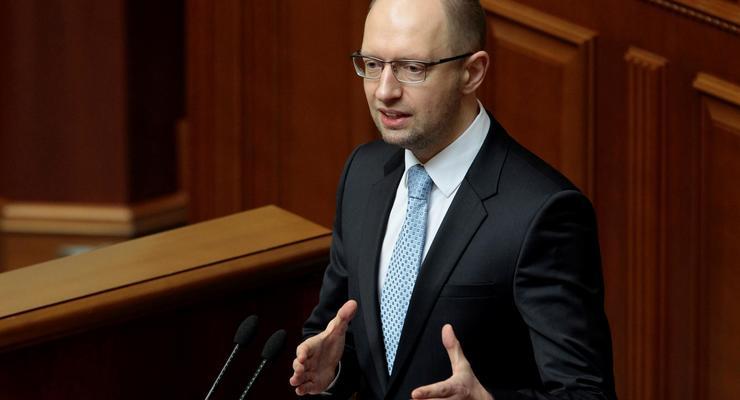 Яценюк заявил в Раде: «Газ воруют русские» (видео)