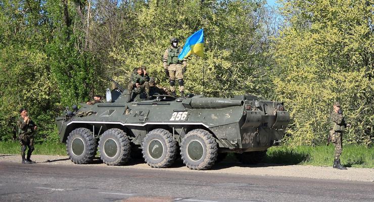 Николаевские десантники вырвались из оцепления террористов – СМИ