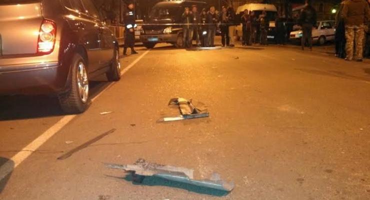 В центре Одессы возле офиса Евромайдана прогремел взрыв