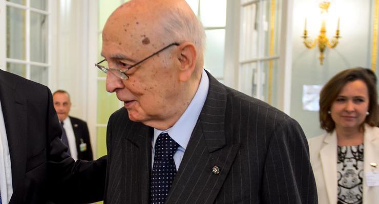 Президент Италии подал в отставку из-за преклонного возраста
