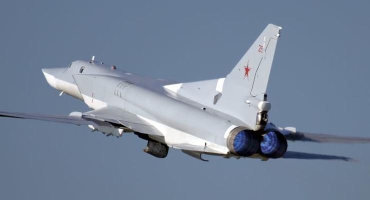 У границ Латвии засекли два российских бомбардировщика и два истребителя