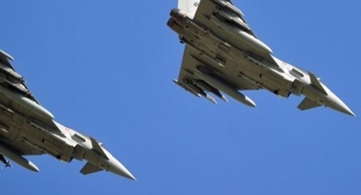 Воздушная полициия НАТО снова перехватила военный самолет РФ над Балтийским морем