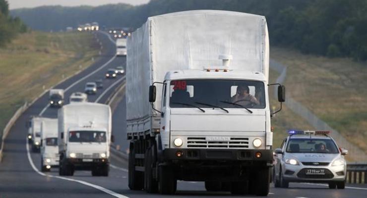 """Путинский конвой с """"подарками для ветеранов"""" пересек границу"""