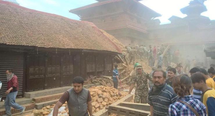 В Непале произошло второе мощное землетрясение