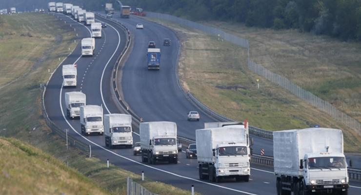 На границу с Украиной отправился очередной конвой Путина