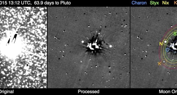 Зонд NASA сфотографировал систему Плутона с близкого расстояния