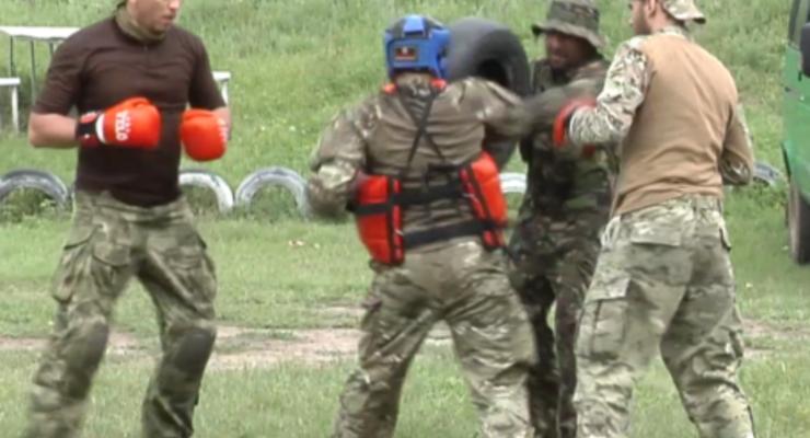 Украинских пограничников обучают инструкторы из Израиля