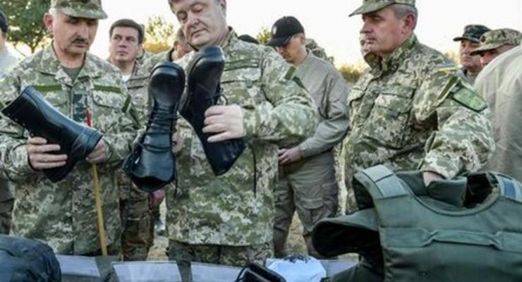 """""""Пусть Порошенко сам ее носит"""": военные жалуются на новую зимнюю форму"""