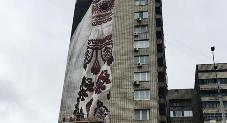 Киевский мурал может стать самым высоким в Европе