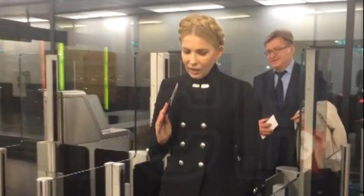 Тимошенко застали в компании с экс-министром энергетики Проданом в Вене