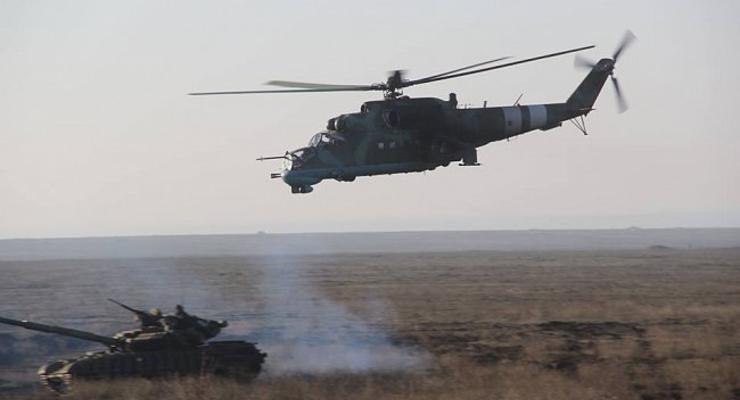 Минобороны показало, как проходят военные учения танкистов