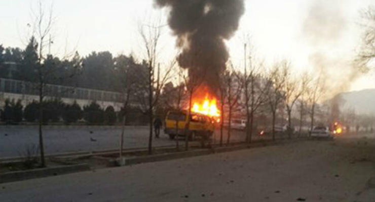 У посольства РФ в Кабуле прогремел взрыв, есть жертвы