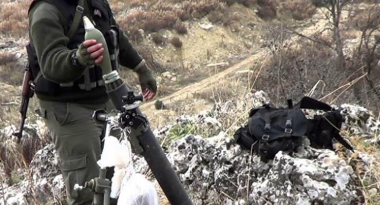 Карта АТО: украинские военные попали под минометный обстрел боевиков