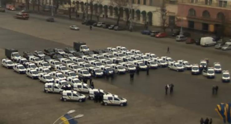 Аваков представил новых полицейских, которые будут работать в Харьковской области