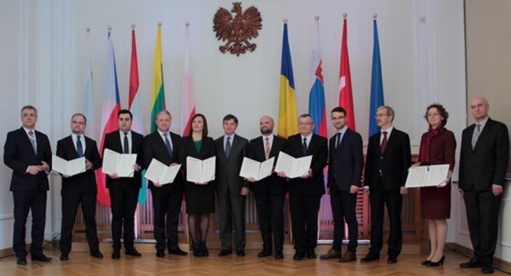 Украина станет частью транспортного коридора через Европу