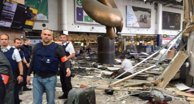 Бомбу в аэропорту Брюсселя привел в действие смертник